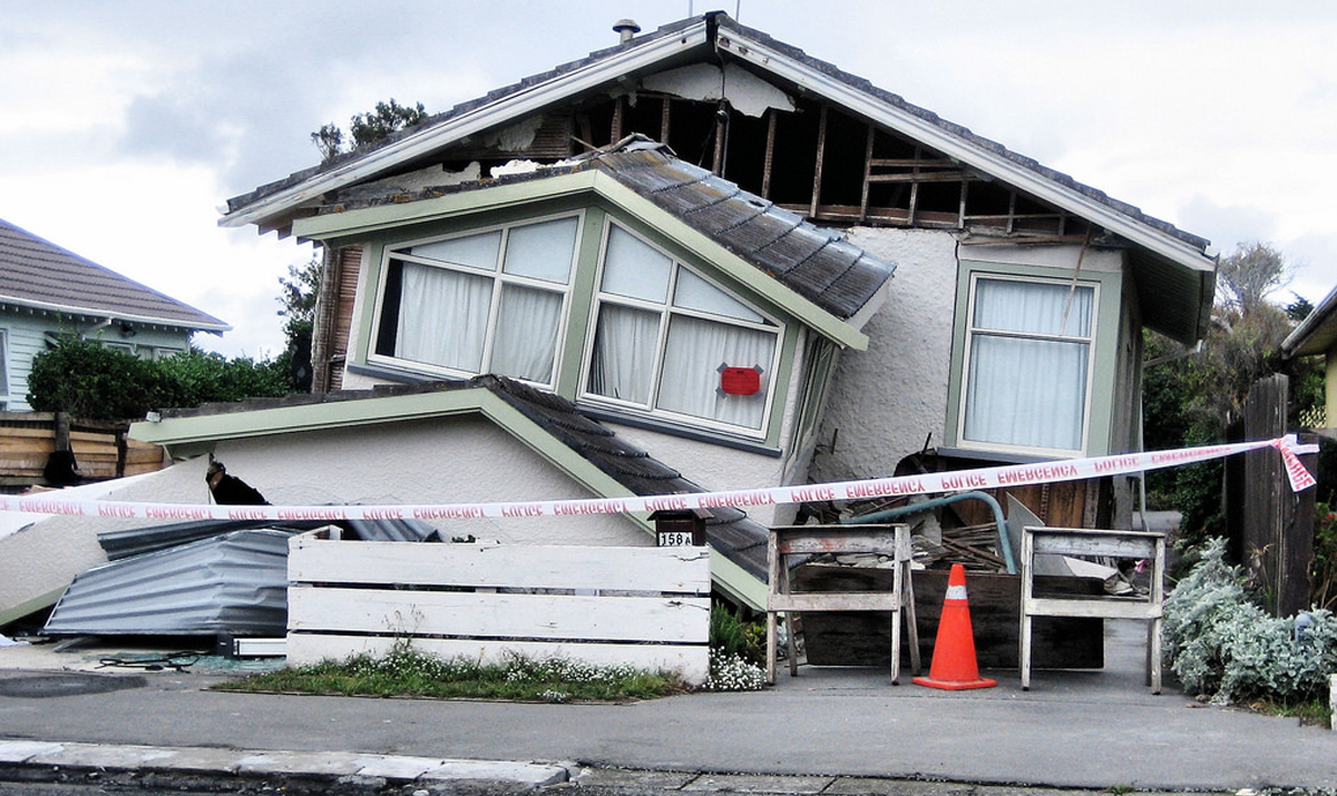 IS YOUR HOME EARTHQUAKE READY?